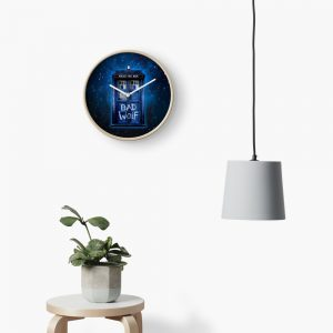 Bad Wolf Clock