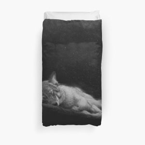 Don't wake the wolf Duvet Cover