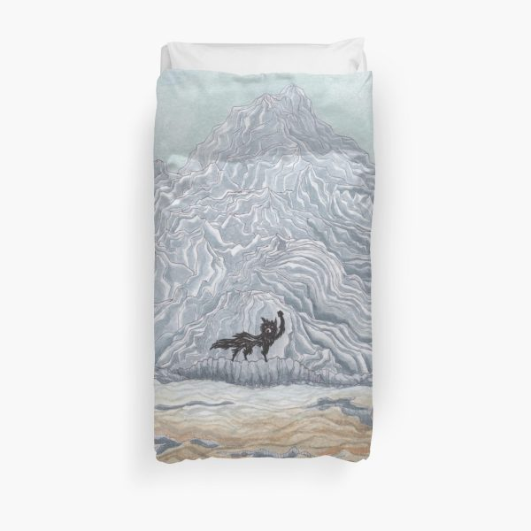 The Winter Wolf - Fantastic Mr Fox by wes Anderson Duvet Cover