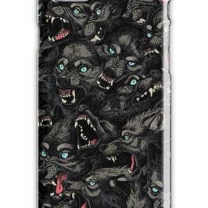 Wolf Pack Pattern iPhone 7 Snap Case