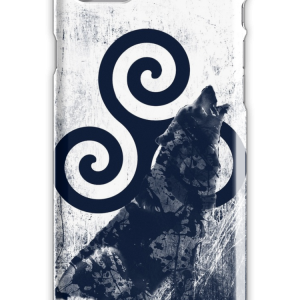 Triskele and Wolf iPhone 7 Snap Case