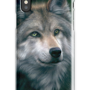 Grey Wolf iPhone X Snap Case