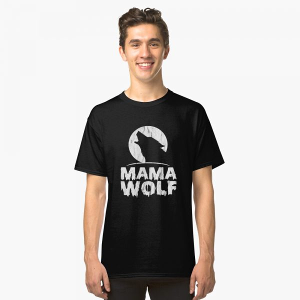 Classic Mama Wolf T-Shirt