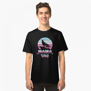 Mama Wolf Classic T-Shirt