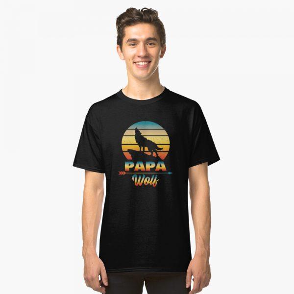 Papa Wolf Classic T-Shirt