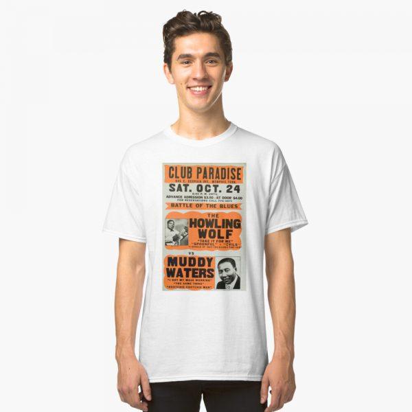 Howling Wolf vs Muddy Waters Classic T-Shirt