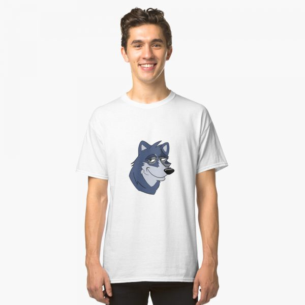 Cartoon Wolf Classic T-Shirt