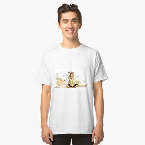 Princess Mononoke Wolf Classic T-Shirt