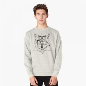 Wolf Pullover Sweatshirt