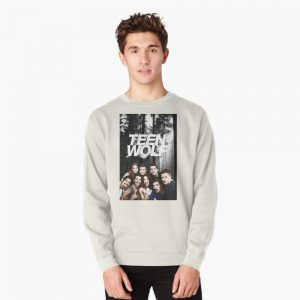 Teen Wolf - Logo and Cast Pullover Sweatshirt