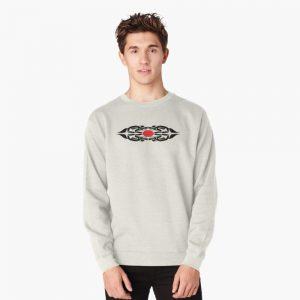 Coast Salish Wolf Pullover Sweatshirt