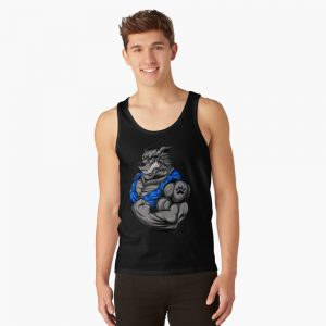 Bodybuilding wolf/Lobo Tank Top