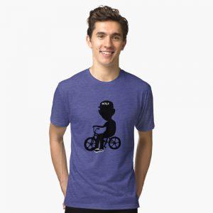 Tyler the Creator- Wolf Hayley Tri-blend T-Shirt
