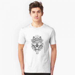 Wolf Spiritual Slim Fit T-Shirt