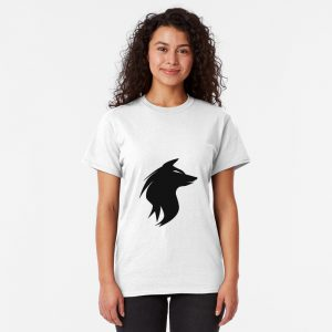 Cool black wolf Classic T-Shirt