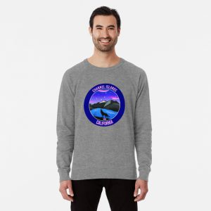 Channel Islands, California National Park (Wolf) Lightweight Sweatshirt