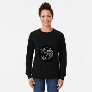 Witcher wolf logo Lightweight Sweatshirt