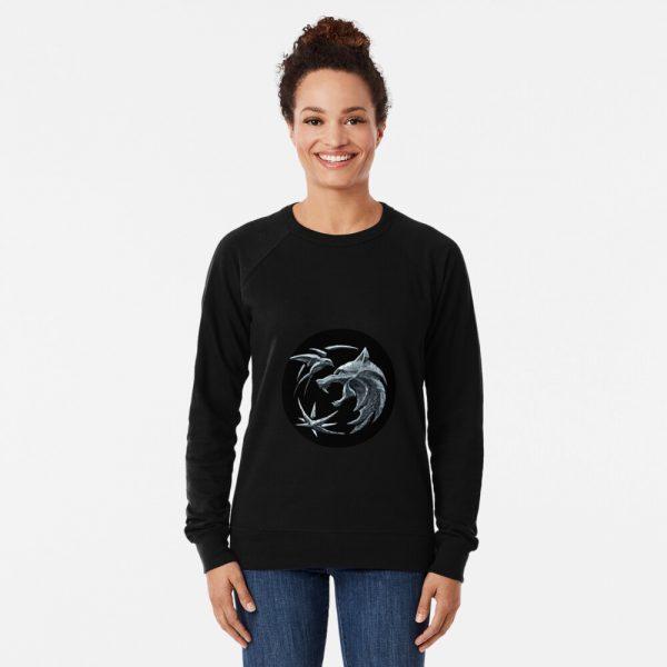 Witcher wolf logo Lightweight Sweatshirt