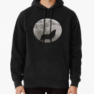 Howling Wolf Pullover Hoodie