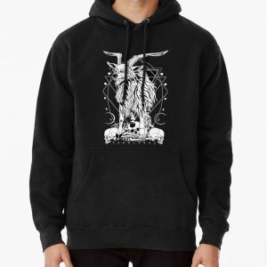 VUKOJARAC - the mythical wolf-goat bad omen Pullover Hoodie