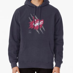 Wolf O'Donnell Coat Emblem Pullover Hoodie