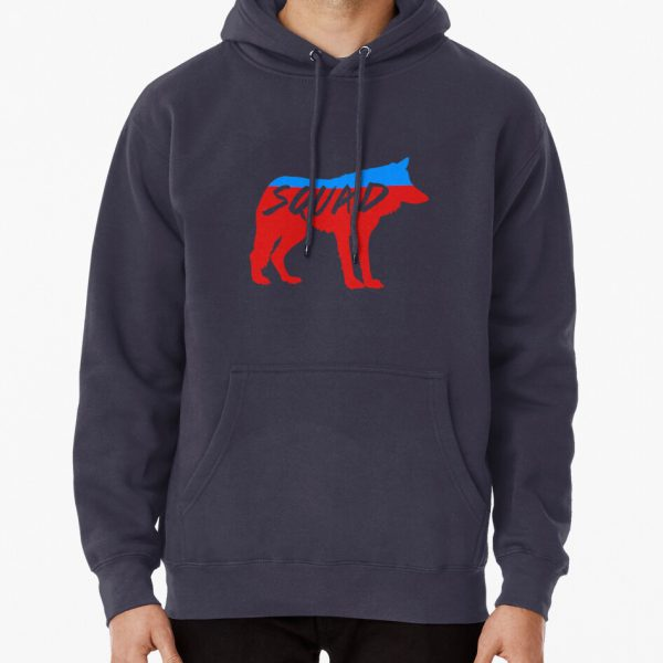 Wolf Squad Pullover Hoodie