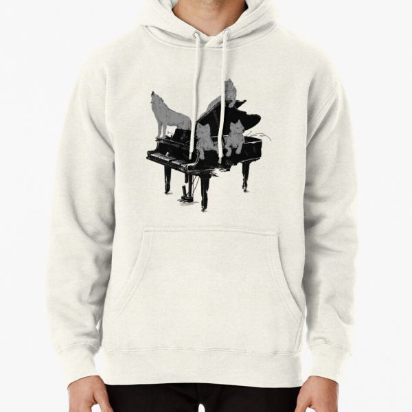 Young Wolf Gang Pullover Hoodie