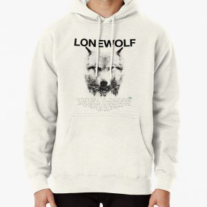 Lone Wolf! Pullover Hoodie