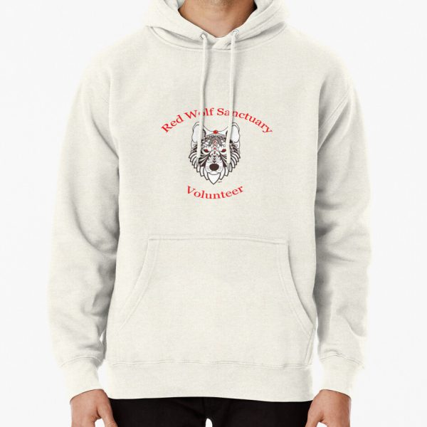 Red Wolf Sanctuary - Volunteer Shirt Pullover Hoodie