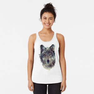 Wolf // Persevere Racerback Tank Top