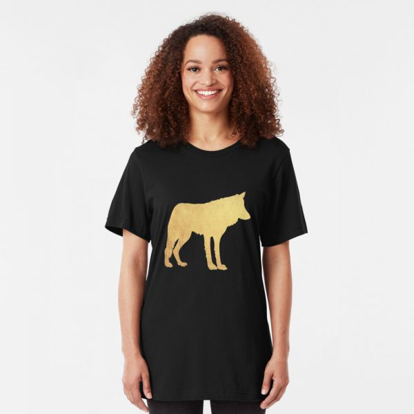 wolf lover - wolf gift Slim Fit T-Shirt