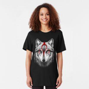 Slim Fit Okami Wolf T-Shirt