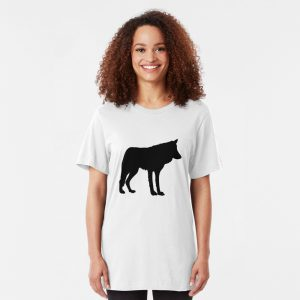 Slim Fit Wolf Lover T-Shirt
