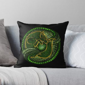 By the Dread Wolf's Design Throw Pillow