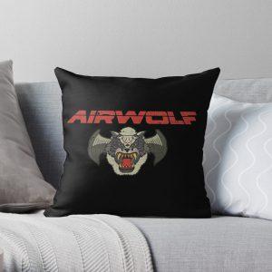 Airwolf Insignia Throw Pillow