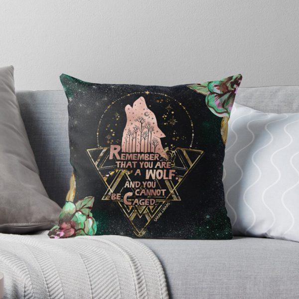 ACOWAR - Wolf Throw Pillow
