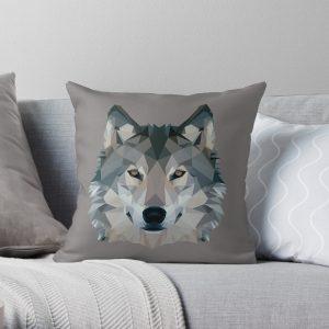 Wolf Throw Cushion