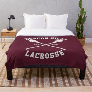 Beacon Hills Lacrosse - Teen Wolf Throw Blanket