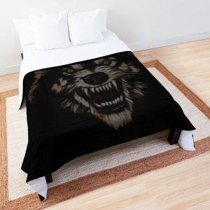 Angry wolf Comforter