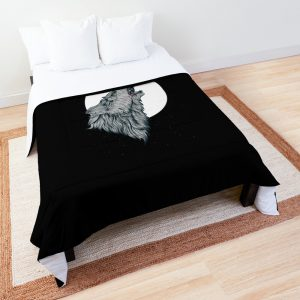 Wolf Howling Comforter