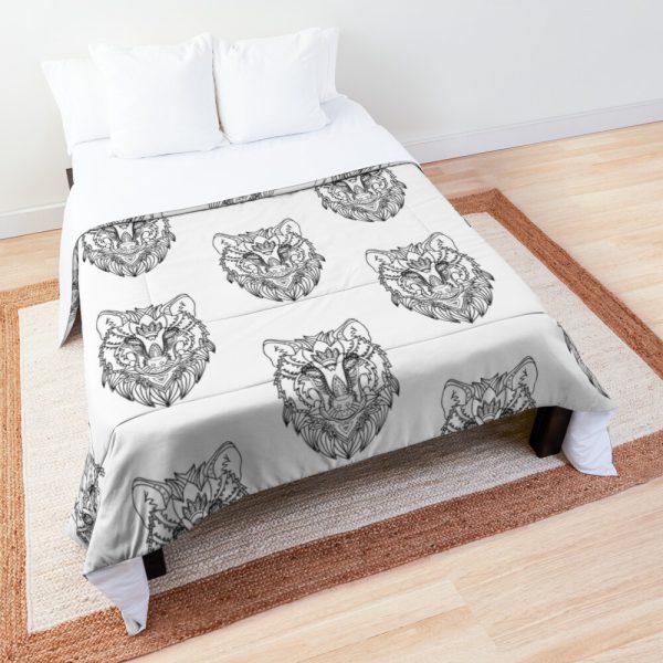 NATIVE WOLF Comforter