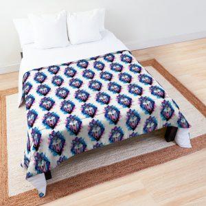 Colorful Wolf Spiritual Comforter