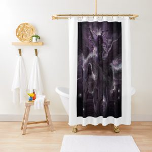 Rex The Flyng Wolf Shower Curtain