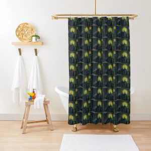 Howling Wolf at midnight Shower Curtain