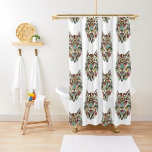 AFRICAN WOLF Shower Curtain