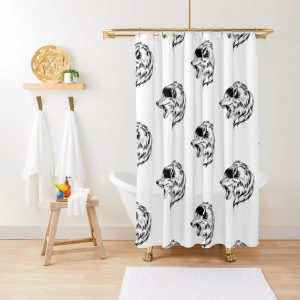 WOLF ATACK Shower Curtain